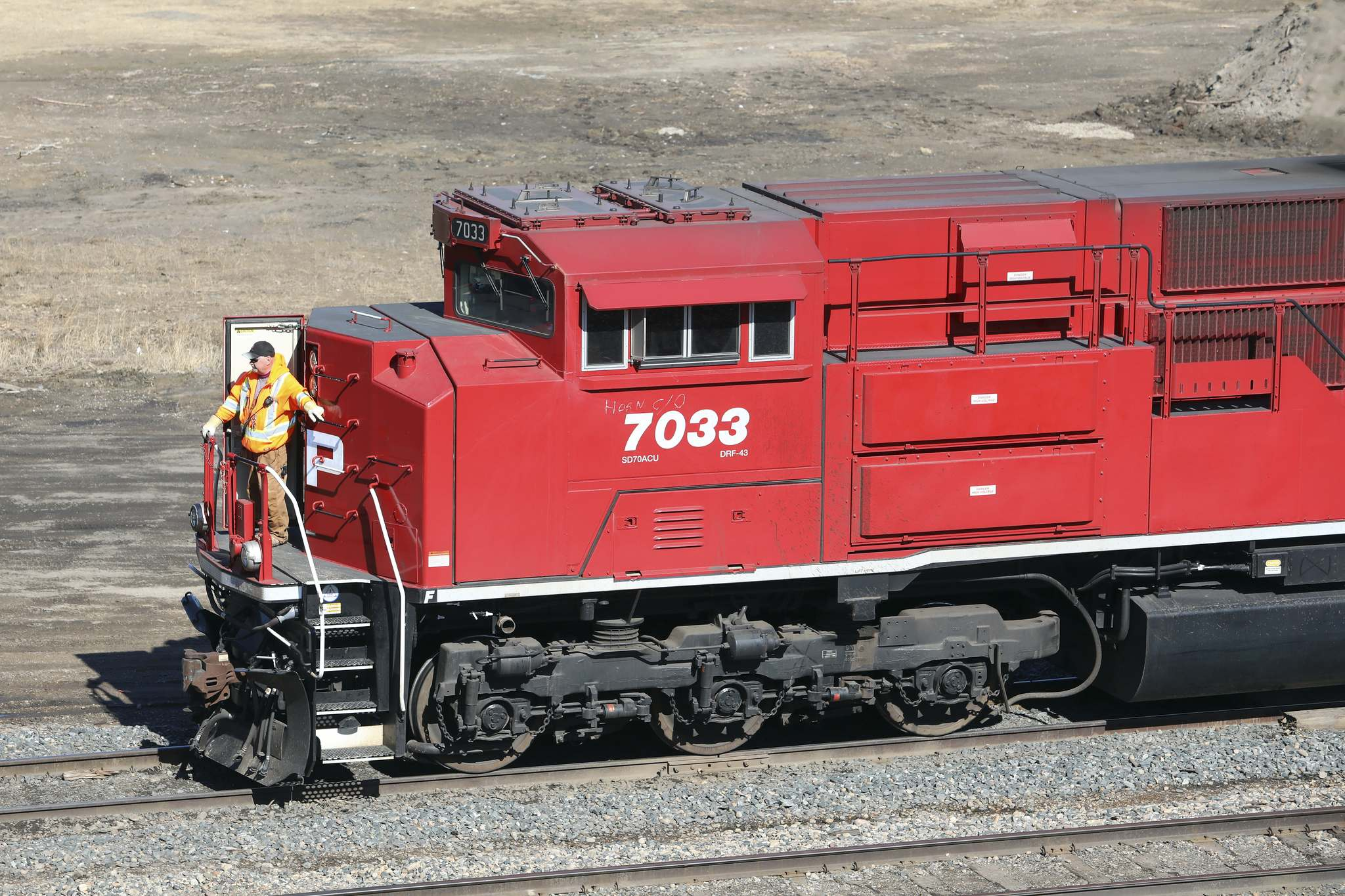 Tim Smith / The Brandon Sun The combined CP-Kansas City network would comprise 32,000 kilometres of track and link Canada, the U.S. and Mexico.
