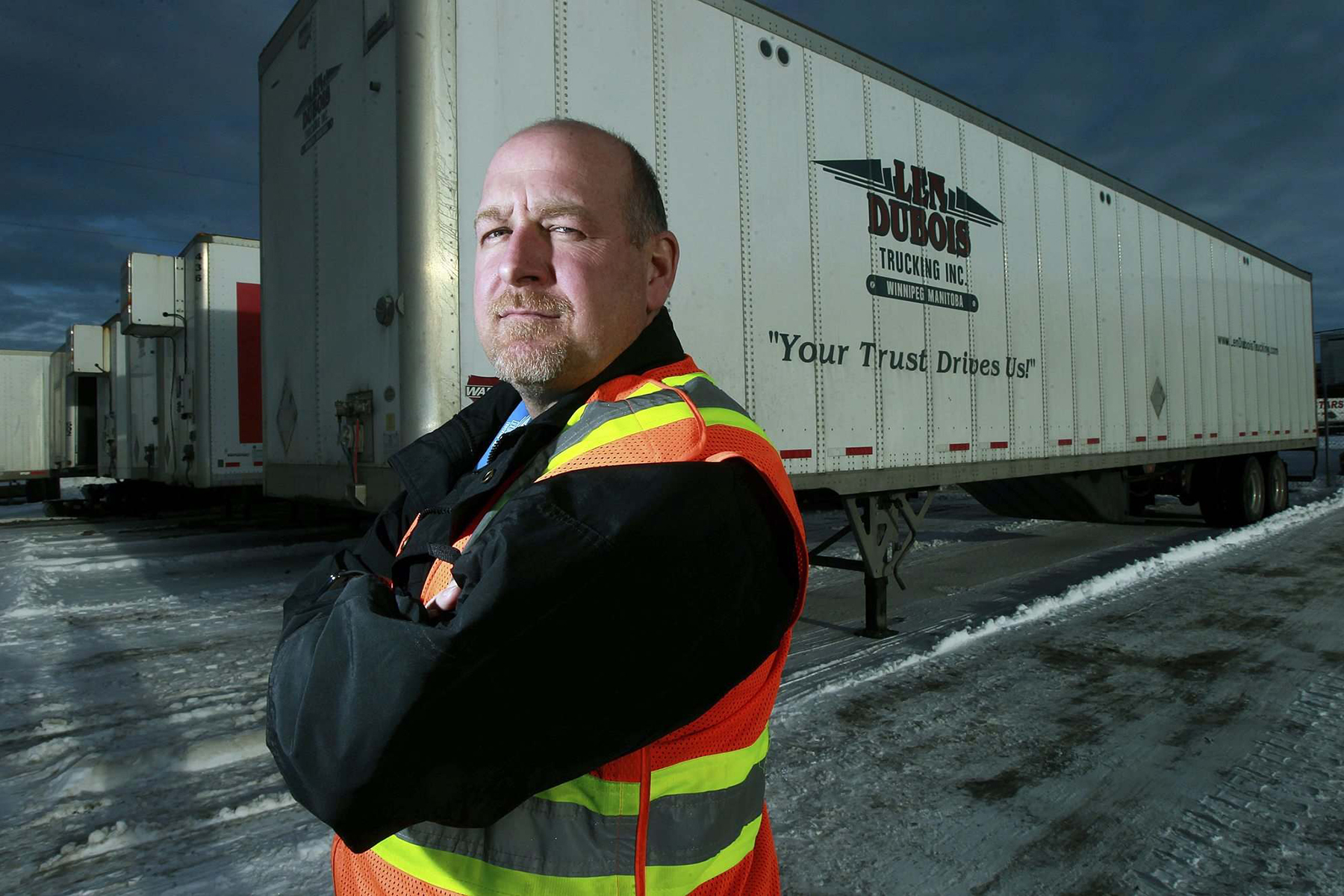 CentrePort home base for some of country's largest trucking firms